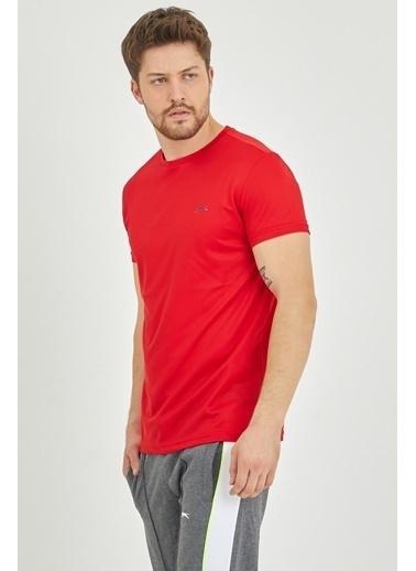 Slazenger Slazenger REPUBLIC Erkek T-Shirt  Kırmızı